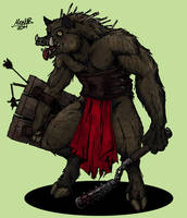 Jabaloronte Warrior by Shabazik
