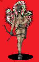 Feather-Warrior Ozcura by Shabazik