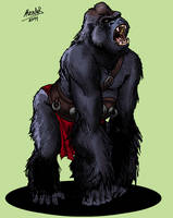 Gorilay Warrior by Shabazik