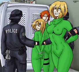 Green Hand Guards to Jail by Shabazik