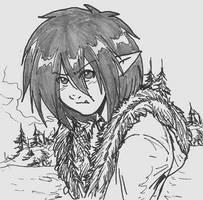 Annoyed Half Elf