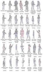 Uniforms of Stornkold