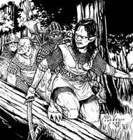 Warriors of Gundbarashal Clan by Shabazik