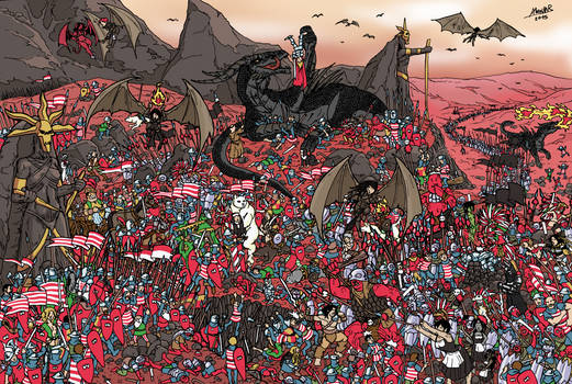 Welcome to the Dustlands - Where is Wally?