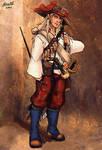 Half Elf Musketeer