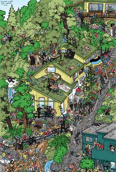 B! Montania - Where is Wally?