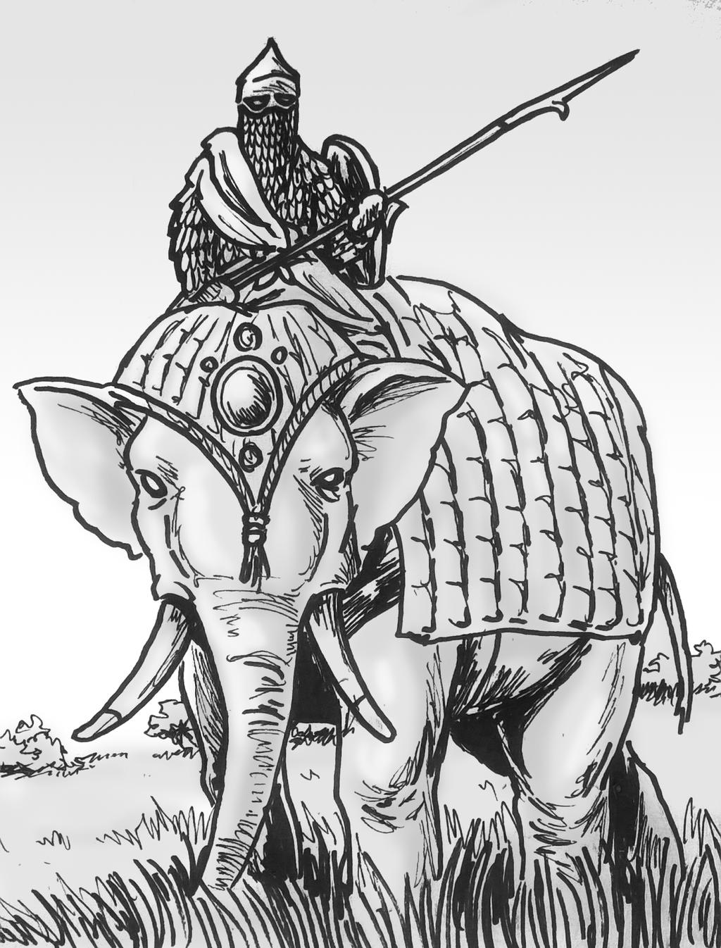war elephant by shabazik on deviantart. Black Bedroom Furniture Sets. Home Design Ideas