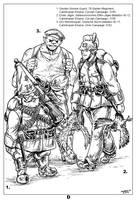 Anglasecuarnian Wars, Auxiliary Calintropian Force by Shabazik