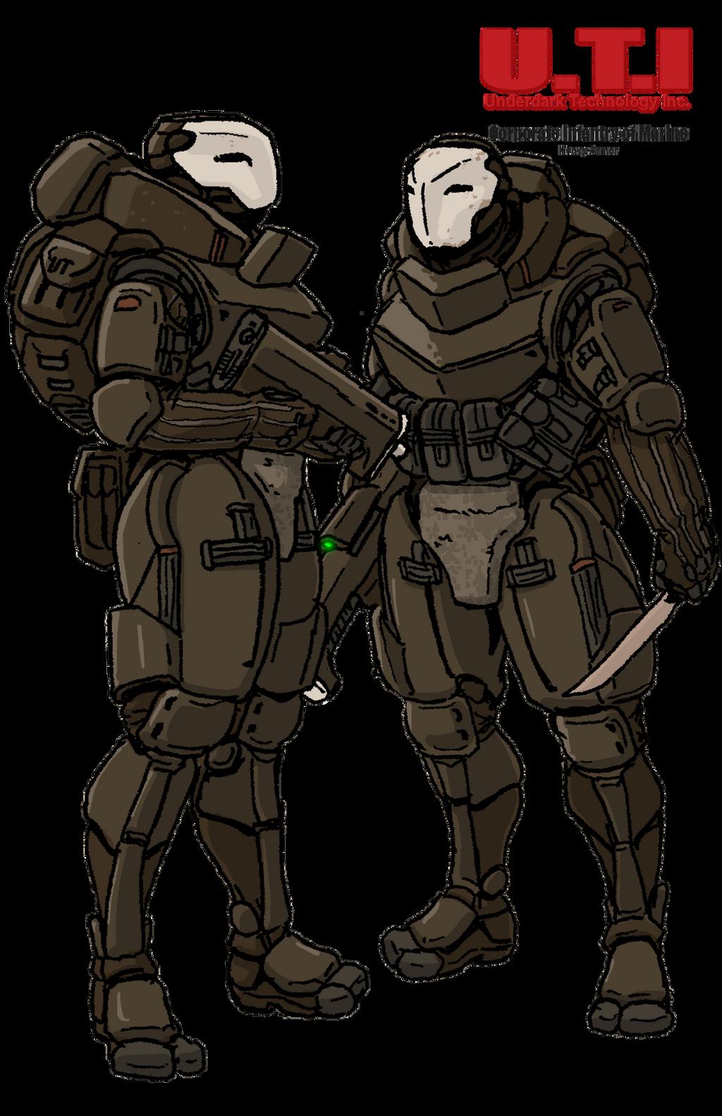 UTI Corporate Infantry of Marine by Shabazik