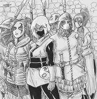 Ozcura Infantry of Zaghal by Shabazik