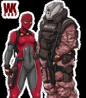 WK.CORP Mercenaries by Shabazik