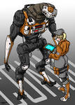 Construction Worker Robot