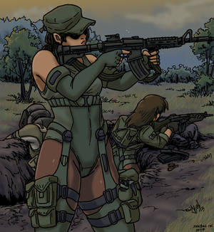 'Wood aFras' Riflewoman