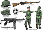 Ruhenian Infantry