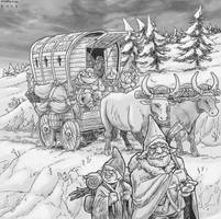 Dwarven Wagon by Shabazik
