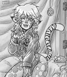 Stray Circus Cat