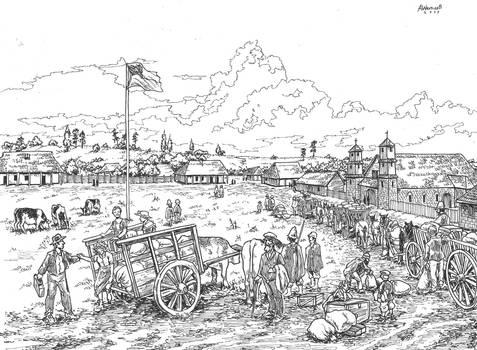 Llegada de los colonos alemanes a Osorno