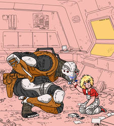 Don't colour the murderbot