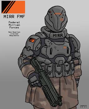 Federal Mirrian Soldier