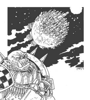 The Billion Dakka Orc Moon