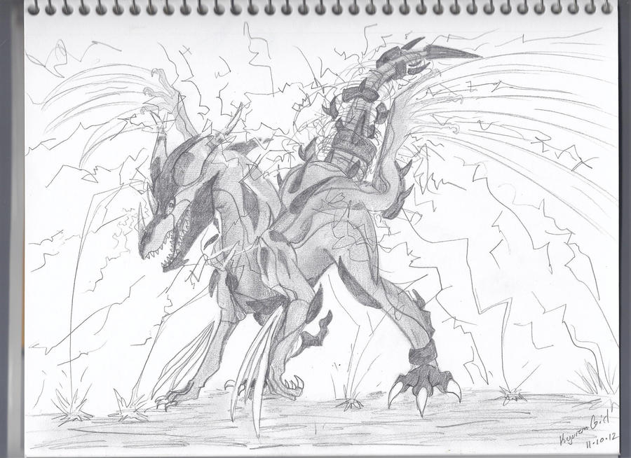 Contest Prize! ZEKROM ALTERNATE FORM! by KyuremGirl