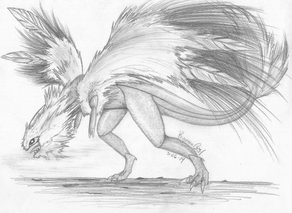 The Fluffy Kyurem by KyuremGirl