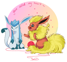 You've melted my heart~