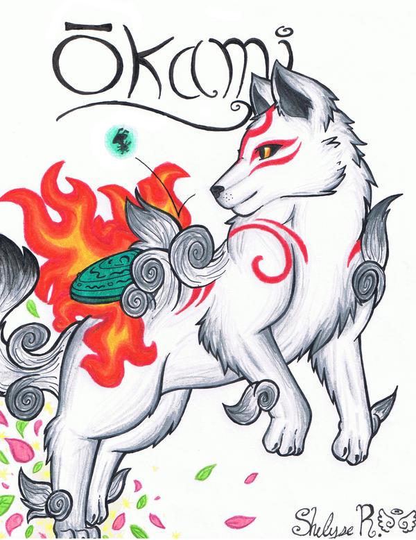 .:+Okami Amaterasu+:. by Ookami-SeaEmpress