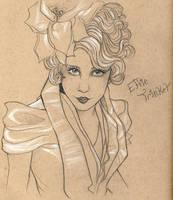 Effie Trinket by Ookami-SeaEmpress