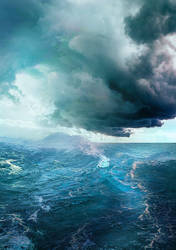 An Ocean Before a Storm by Veeroniquee