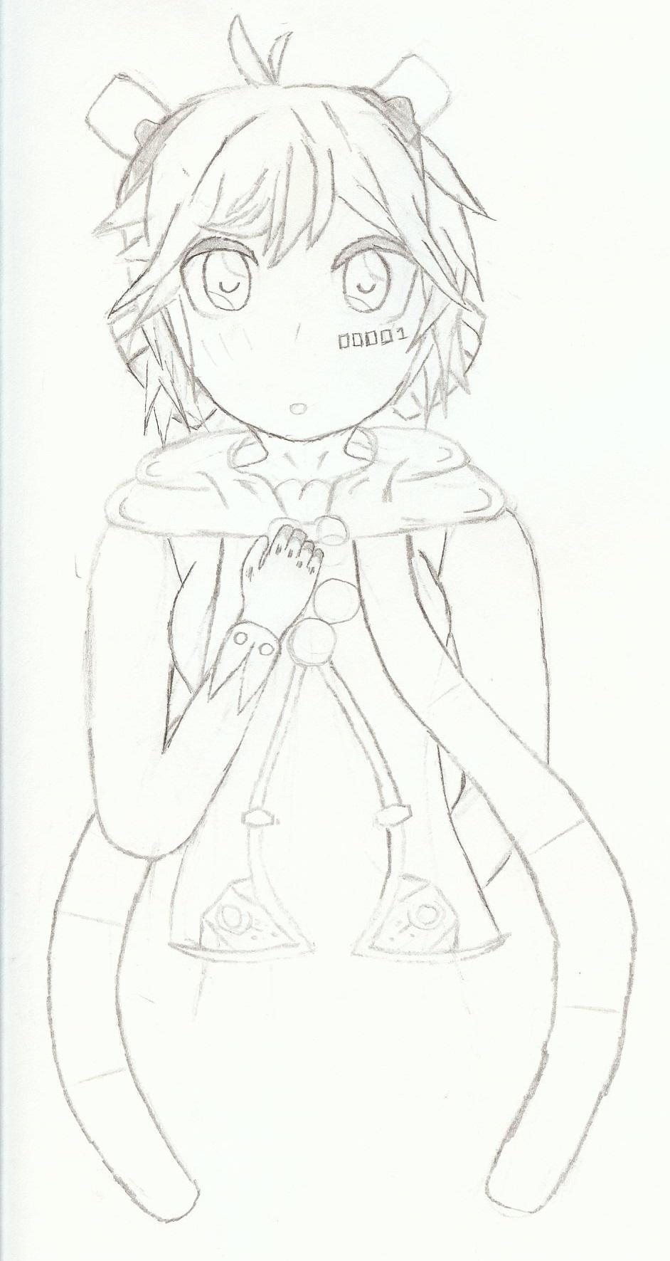 Vocaloid Rana (Work-In-Progress) by Chalysane