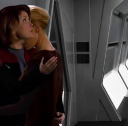 Star trek: Voyager Kathryn Janeway/Seven of Nine 7