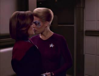 Star trek: Voyager Kathryn Janeway/Seven of Nine 9