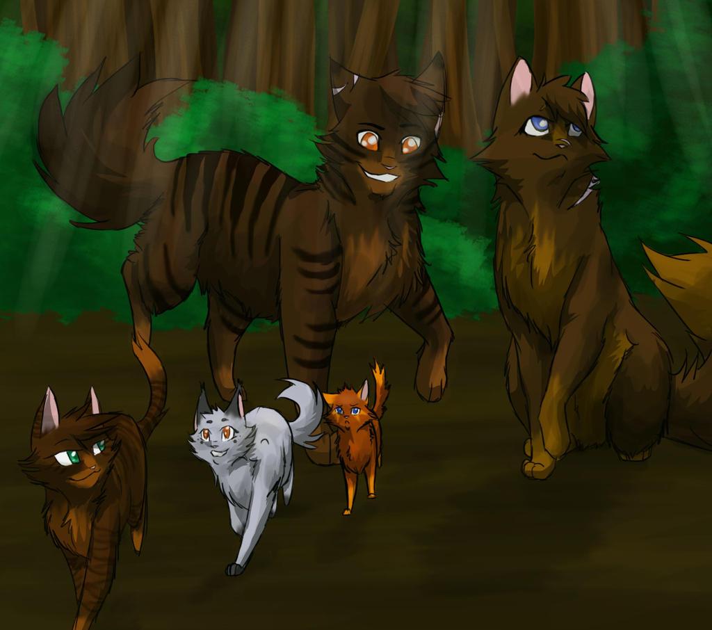 Warrior Cat Group Base