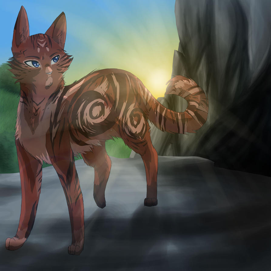 Hollowsong by RiverSpirit456 on DeviantArt Sad Cat Lineart