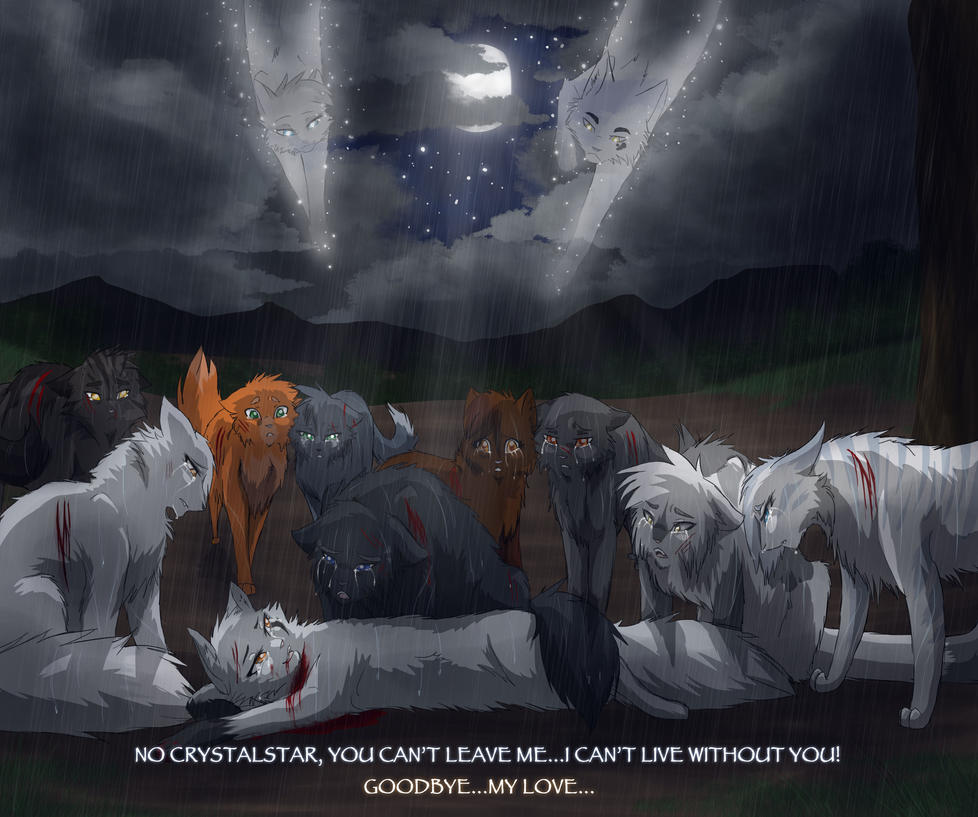 Warriors Come Out And Play Quote: Crystalstar's Death By RiverSpirit456 On DeviantArt