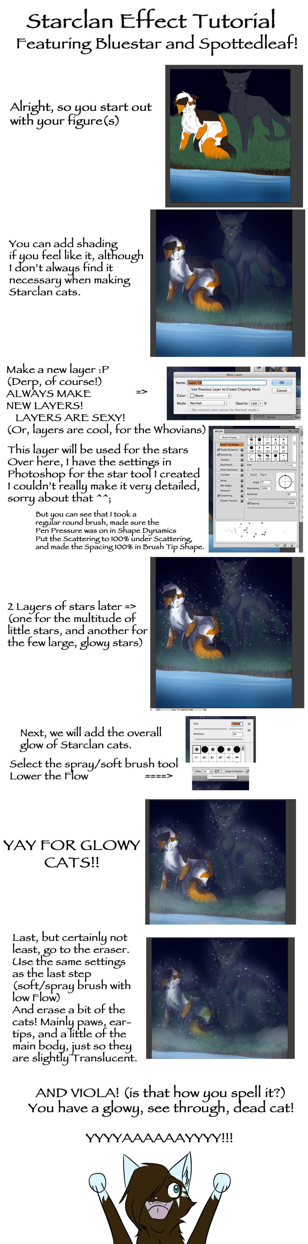 Tutorial 2: Starclan Effect by RiverSpirit456