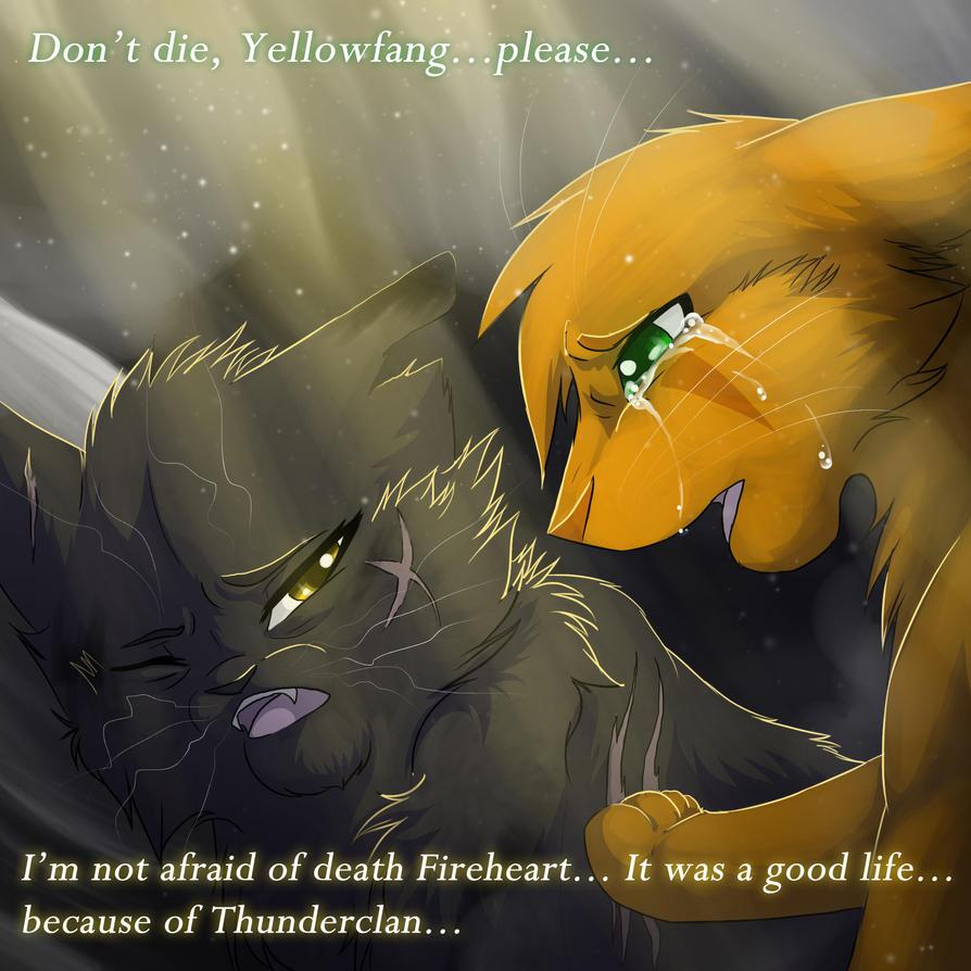 Yellowfang And Fireheart Yellowfang's Death by ...