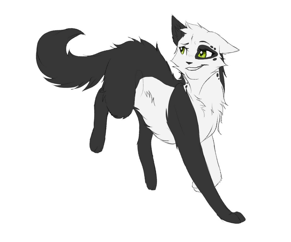 White Cat Spirit Anime
