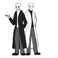 Gasters by RiverSpirit456