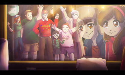 Goodbye Gravity Falls by RiverSpirit456