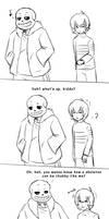 Always Prepared (UT Short Comic) by RiverSpirit456