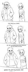 Always Prepared (UT Short Comic) by RiverSpirit456