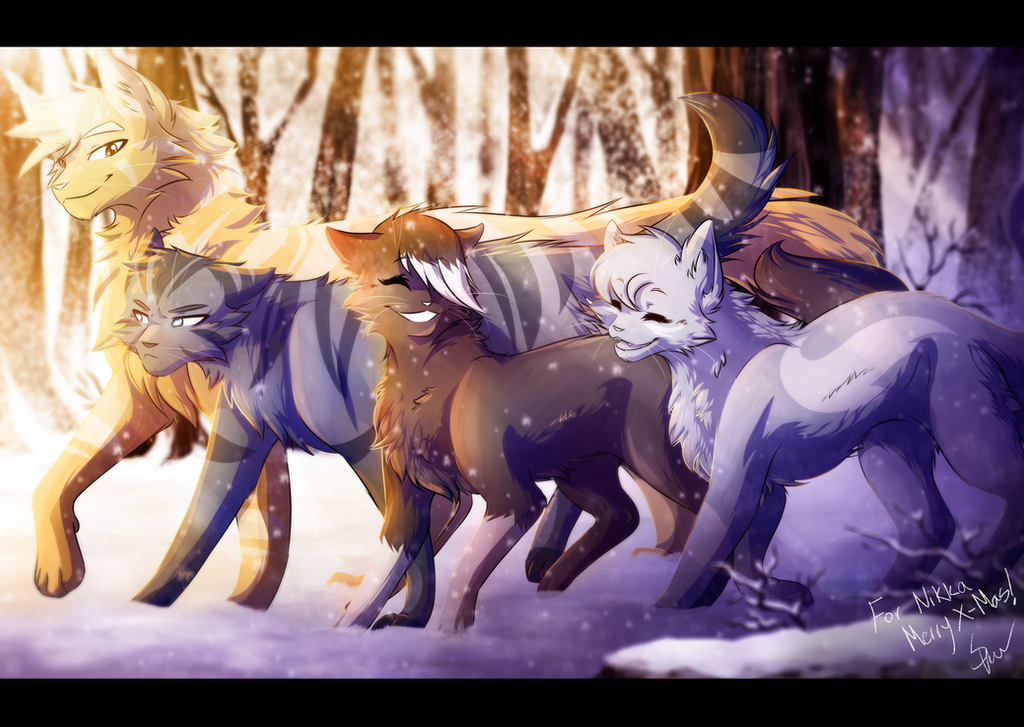 Winter walk by RiverSpirit456