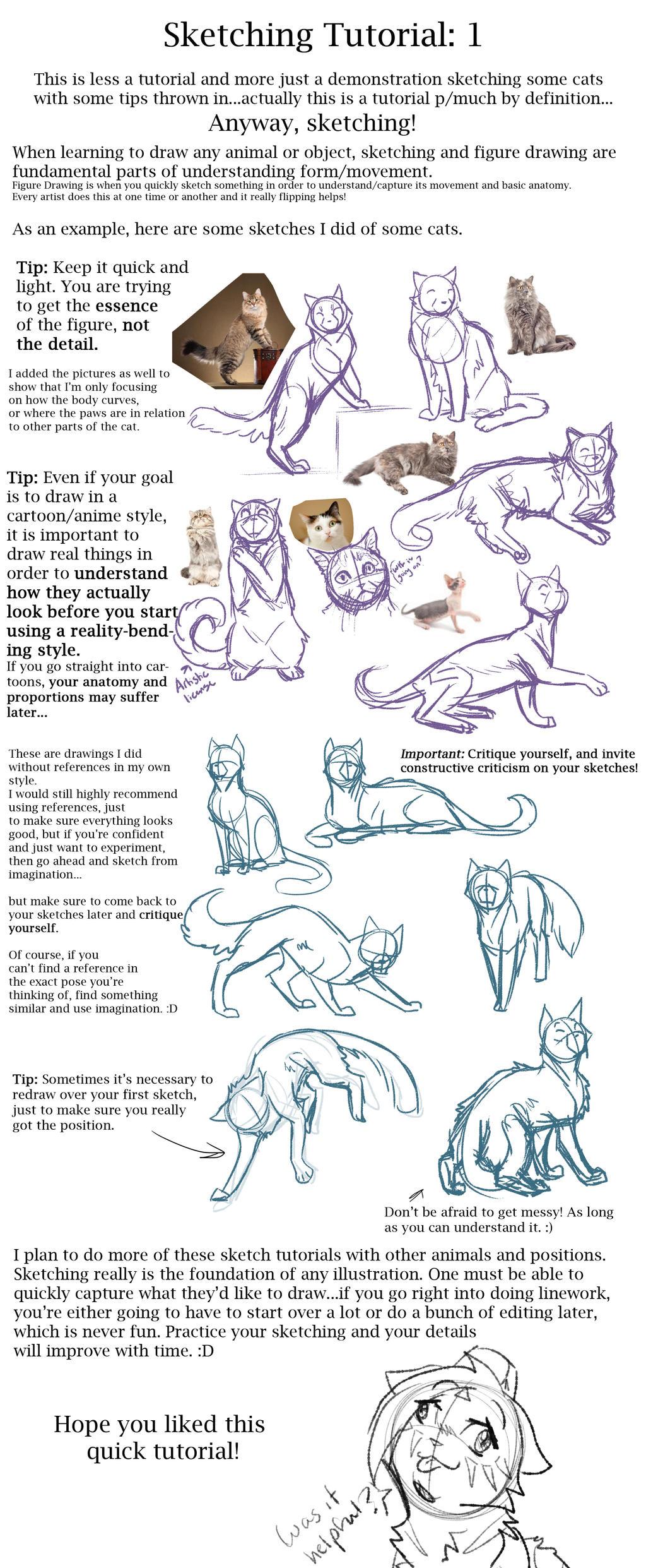 Sketch Tutorial #1 By Riverspirit456 Sketch Tutorial #1 By Riverspirit456