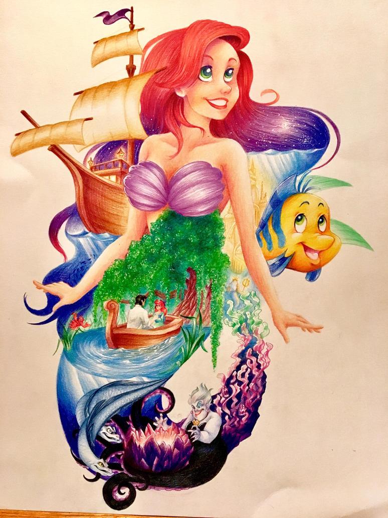 cartoon series 1 the little mermaid by riverspirit456 on deviantart
