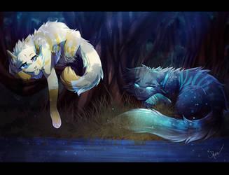 Moonlit Pool by RiverSpirit456