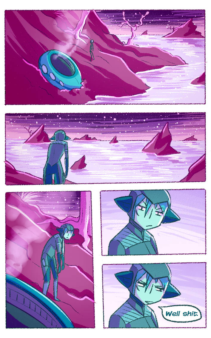 Star Chasers: Pg 1