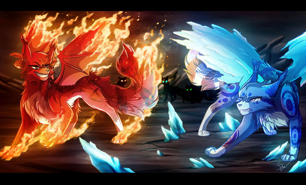 Embers and Frost by RiverSpirit456