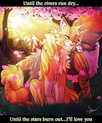 Sunset Petals by RiverSpirit456